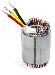 Statori avvolti per motori a bassa tensione